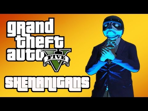 GTA 5 Shenanigans | Inside the FIB Building & The 50+ Car Explosion!