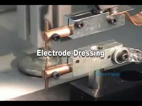 Dressing Electrodes For Resistance Spot Welding By Amada