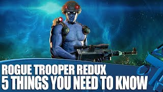 Rogue Trooper Redux Gameplay - 5 Things You Need To Know