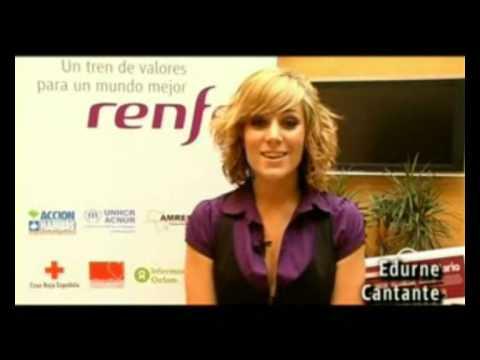Edurne -  Campaña Solidaria - Renfe