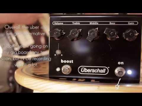 Bogner Überschall Pedal [Les Paul / Jazzmaster]