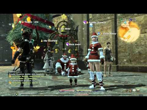 Final Fantasy XIV Online - Christmas Event - YouTube