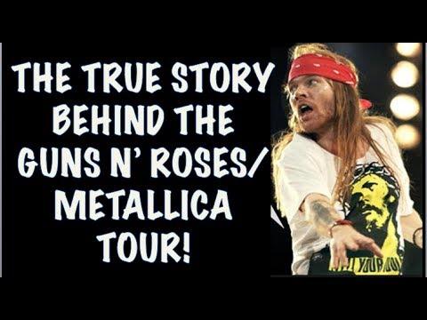 Guns N' Roses: The True Story Behind the GNR & Metallica 1992 Stadium Tour!