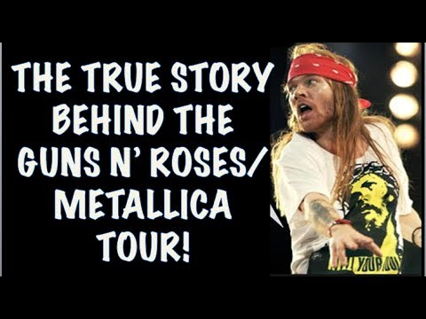 Guns N' Roses: The True Story Behind the GNR & Metallica 1992 Stadium Tour!
