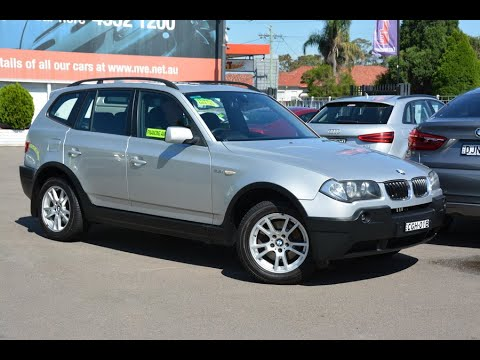 2005 BMW X3 2.5i 6 speed manual All Wheel Drive for sale at Newcastle Vehicle Exchange