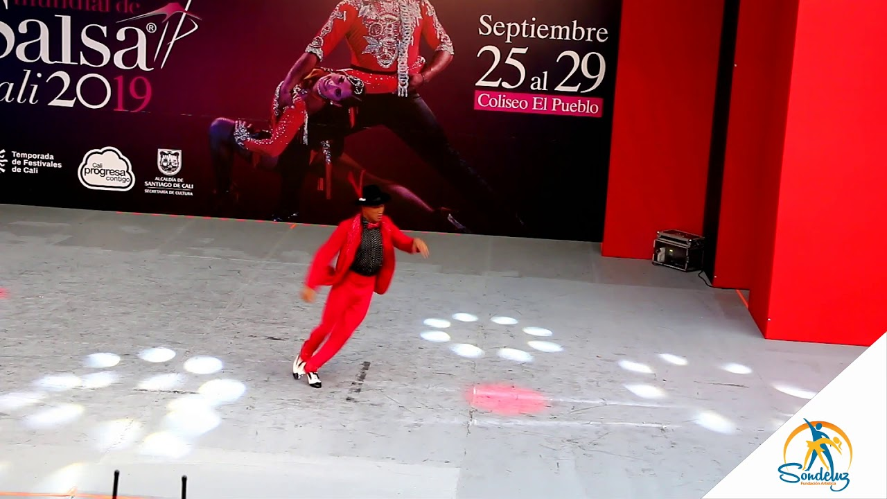 Fauner Uribe, Solista Sondeluz, Mundial de Salsa Cali 2019