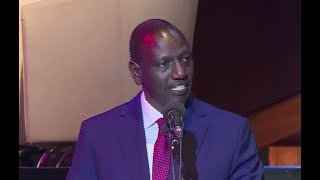 DP RUTO: AFRICA MUST LEARN TO CELEBRATE AND VALIDATE HER OWN