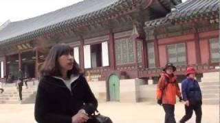 旅游韩国参观首尔景福宫之交泰殿 Gyeongbok Palace - 2 South Korea Seoul