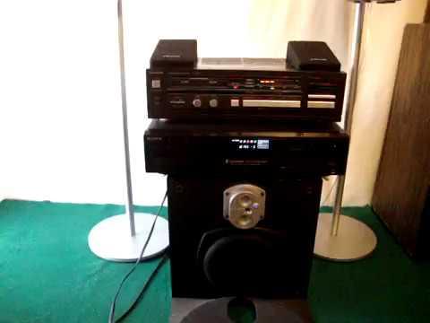 CONJUNTO 2.1 TECHNICS, POLK AUDIO , ENERGY , SONY