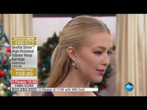 HSN | Sevilla Silver with Technibond Jewelry Gifts 11.30.2016 - 01 PM