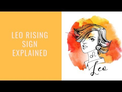 Leo Rising Sign: Strong And Determined