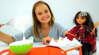 Рецепты для детей - Сериз и Кира готовят безе