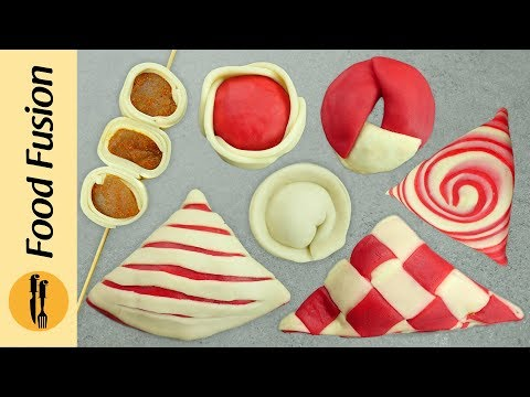 8 Unique Samosa Folding Techniques By Food Fusion (Ramzan Recipes)