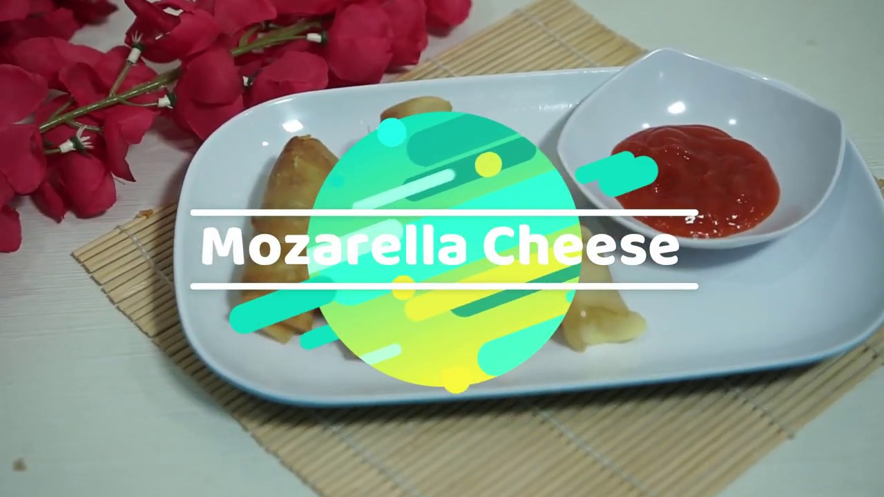 Resep Stick Mozarella Cheese with Egg ala Moslem Lifestyle| #Dapur Moslem