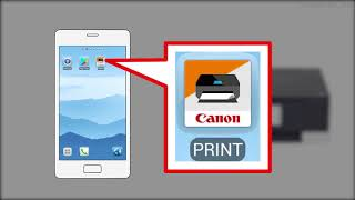 Enabling printing from a smartphone (Android) - 1/2 (TS8200 series)