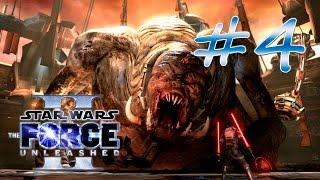 Прохождение Star Wars: The Force Unleashed II (PC) #4 - Кейто-Неймодия - Арена Тарко-Се - Горог