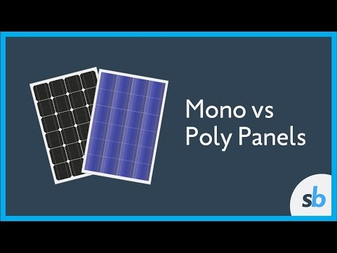 What is the Difference Between Mono and Poly Solar Panels?