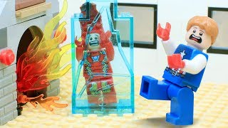 Lego Iron Man: Freezing Christmas