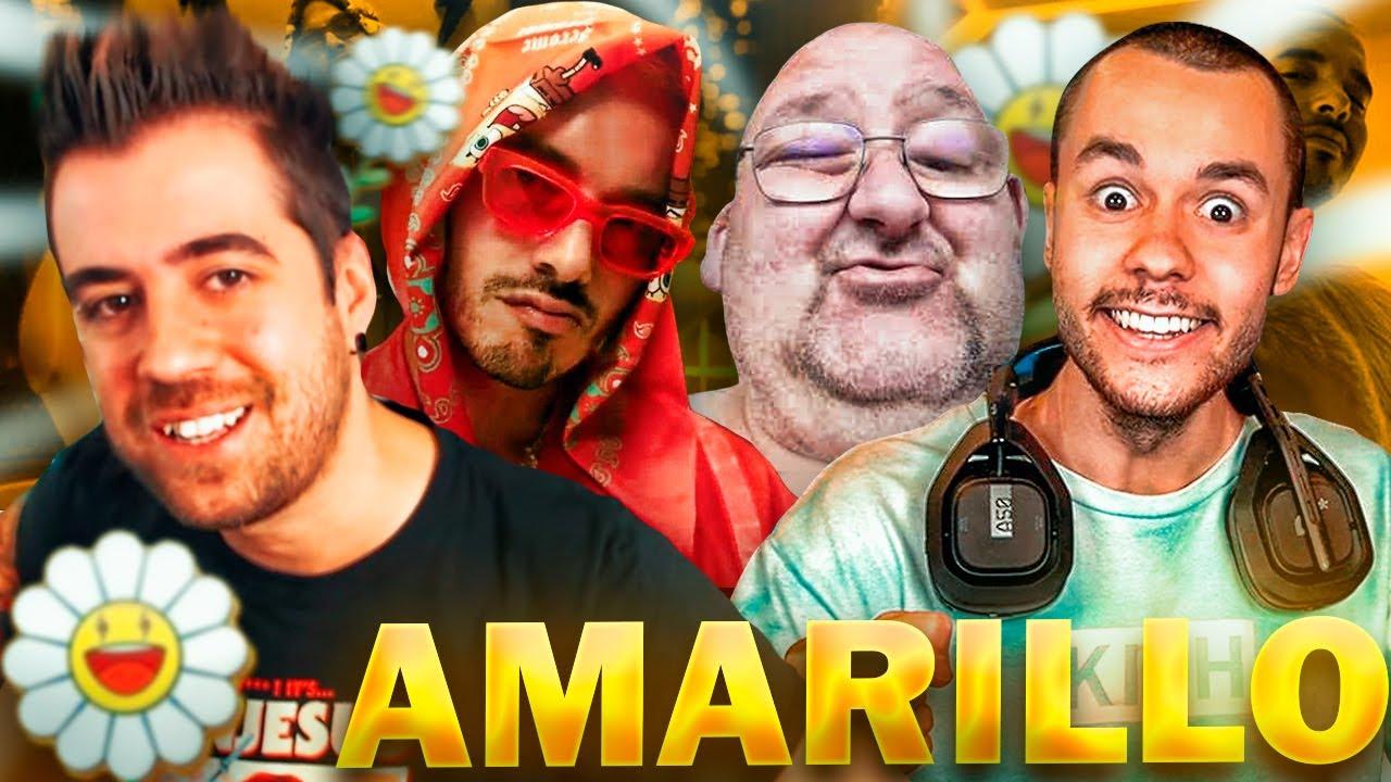 Amarillo pero está cantado por TheGrefg, Auronplay y El Dandy de Barcelona Remix