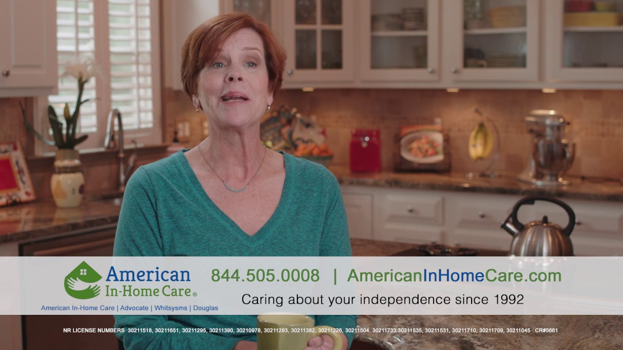 American In Home Care The Right Choice For Us Youtube