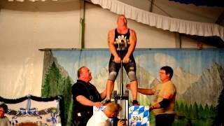 Deutsche Meisterschaft im Steinheben 2014 Bayerbach - Thomas Haselsteiner