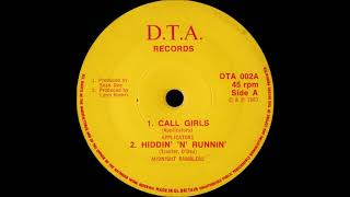 Drequon - Goddess Of The Night (D.T.A. Records untitled compilation 7 EP 1983)