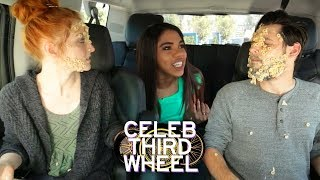 BUTTER FACE CHALLENGE w/ TEALA DUNN | CELEB THIRD WHEEL