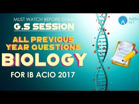 Last Minute Tips For IB ACIO 2017 Exam