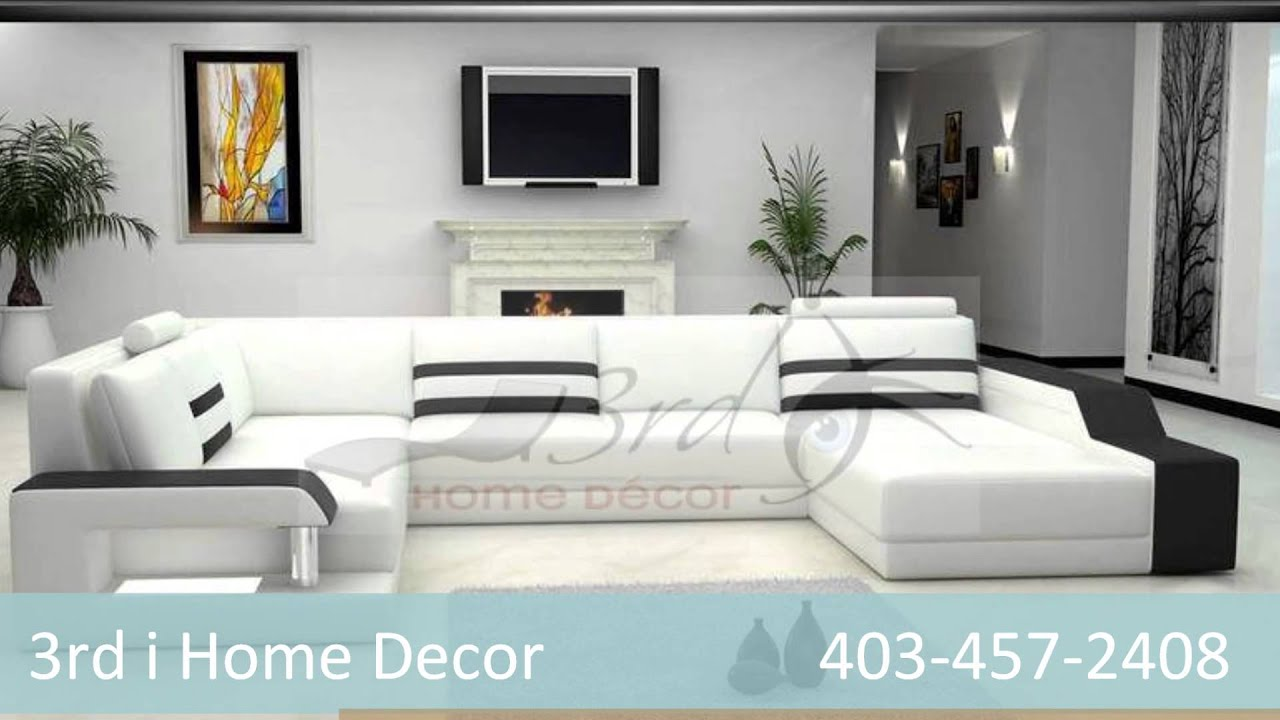 3rd i home decor leather sofas and sectionals nw calgary