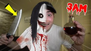 ORDERING JEFF THE KILLER POTION FROM THE DARK WEB AT 3AM!! *ACTUALLY WORKED!!*