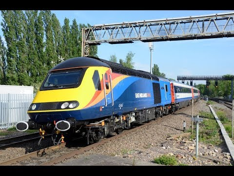 Angel Trains HST's   East Midlands Trains First Timetabled Passenger Services