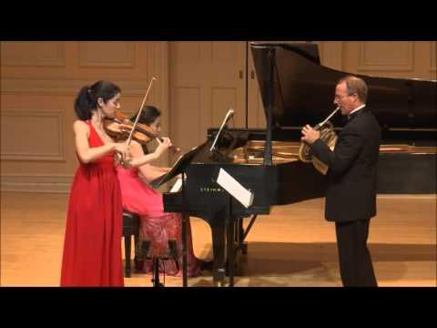 Trio in E- Flat Major, Op. 40 Johannes Brahms (Ruske, Frautschi, Chien)