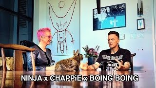 Скачать Die Antwoord S Ninja CHAPPiE The Boing Boing Interview