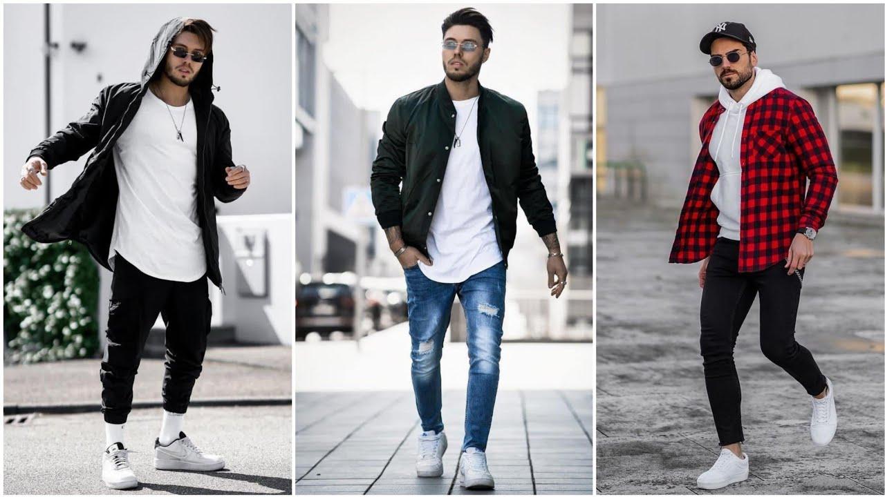 Men's Street Fashion || Streetwear For Men || 2021 Style Trends For Men #shorts #shortvideo