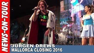 JÜRGEN DREWS   Live Act! Megapark MALLORCA CLOSING Live Act   Sa. 22.10.2016   Ballermann 5