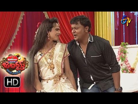 Bullet Bhaskar Sunami Sudhakar Performance | Jabardsth |  16th February 2017 | ETV  Telugu