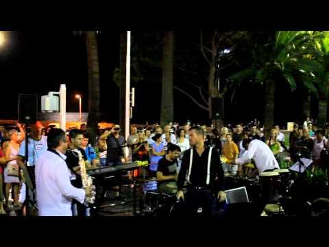 JAZZ ROCK Concert in Nice, France. Концерт на улице в Ницце 2011г.