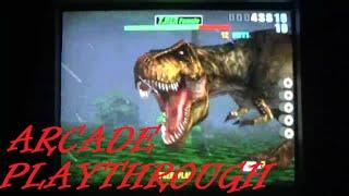 Arcade Playthrough: Lost World Jurassic Park