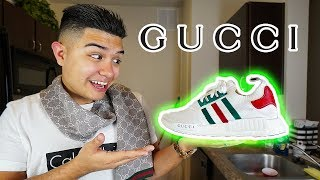 THE ADIDAS NMD GUCCI CUSTOM SNEAKERS!!