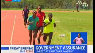 Ministry of Sports assures athletics training for the Common wealth games of allowances