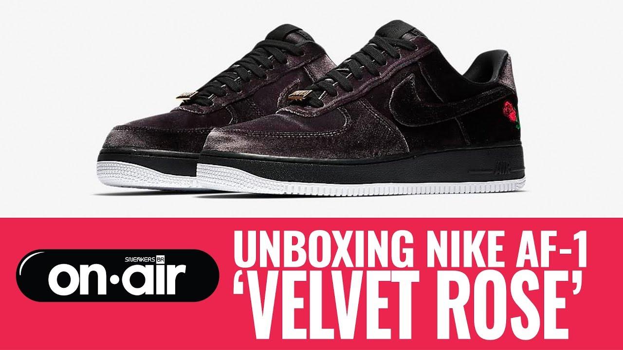 SBROnAIR Vol. 107 Unboxing Nike Air Force 1 'Velvet Rose'