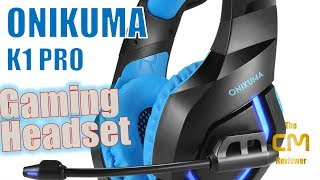 ONIKUMA K1 Pro Test : Gaming Headset - Hands-on (Deutsch, eng. hints)