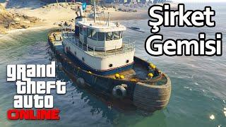 GTA 5 Online - Şirket Gemisiyle Kaçak Mal Teslimatı!