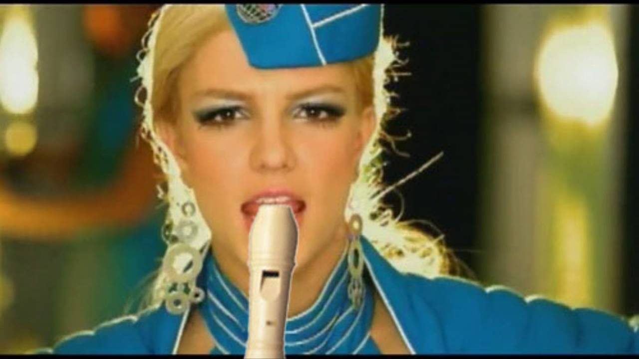 Britney Spears Toxic Makeup - YouTube
