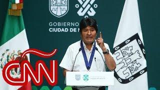 ¿Tendrá consecuencias el asilo de Morales en México?