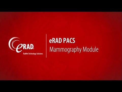 eRAD PACS: Mammography Module