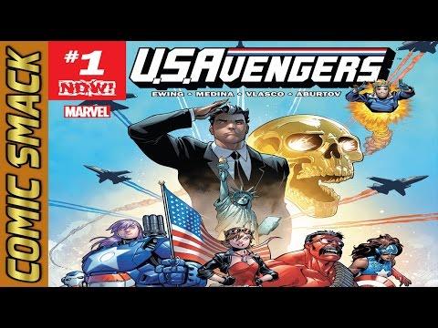 U.S.Avengers #1 Comic Smack