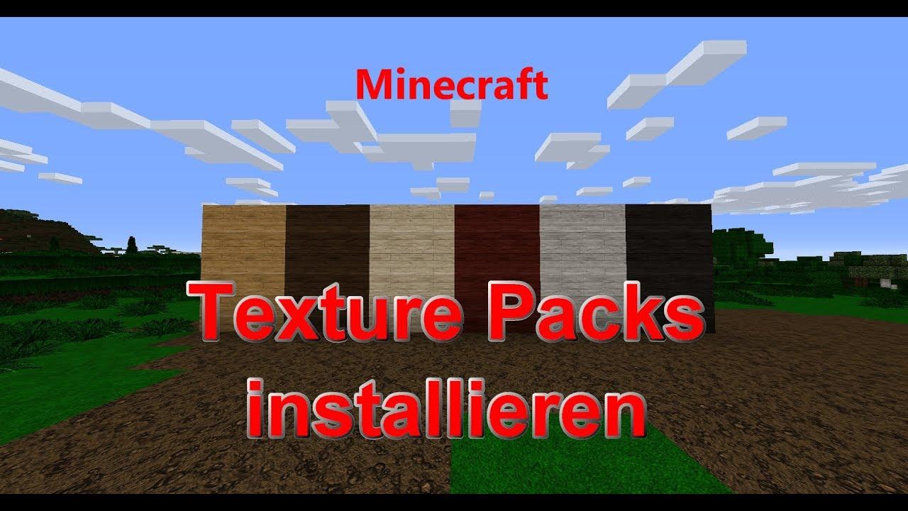 Minecraft Texture Pack Installieren