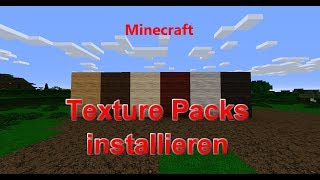 Minecraft - Texture Packs installieren