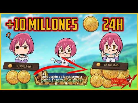 💰¡GANA +10 MILLONES de ORO en SÓLO 24H!💰 | 7DS: Grand Cross Español